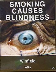 Курение — причина слепоты