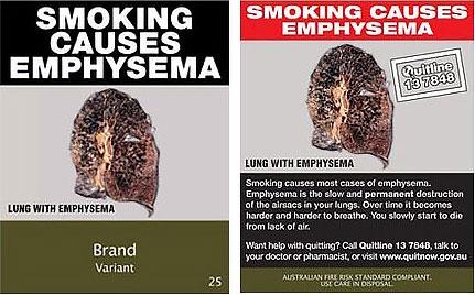 Курение — причина эмфиземы