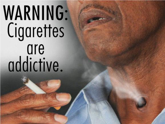 ВНИМАНИЕ: Курение вызывает привыкание