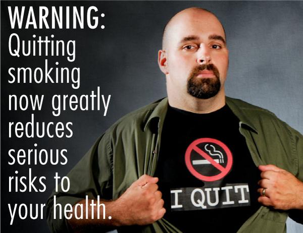 ВНИМАНИЕ: Бросание курить значительно снизит серьезные последствия для вашего здоровья